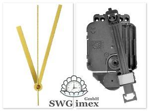 Quarz Pendel Uhrwerk Pendeluhrwerk geräuschlos lautlos kein ticken 4 10 19 mm