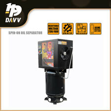 75 Hp 230v 3 Phase Rotary Screw Air Compressor 18cfm175psi 60 Gallon Hpdavv