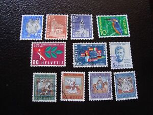 Switzerland-Stamp-Yvert-and-Tellier-N-763-A-773-Obl-A2-Stamp-Switzerland-T