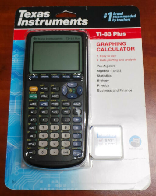 Texas Instruments TI-83 Plus Graphing Calculator BRAND NEW & SEALED!