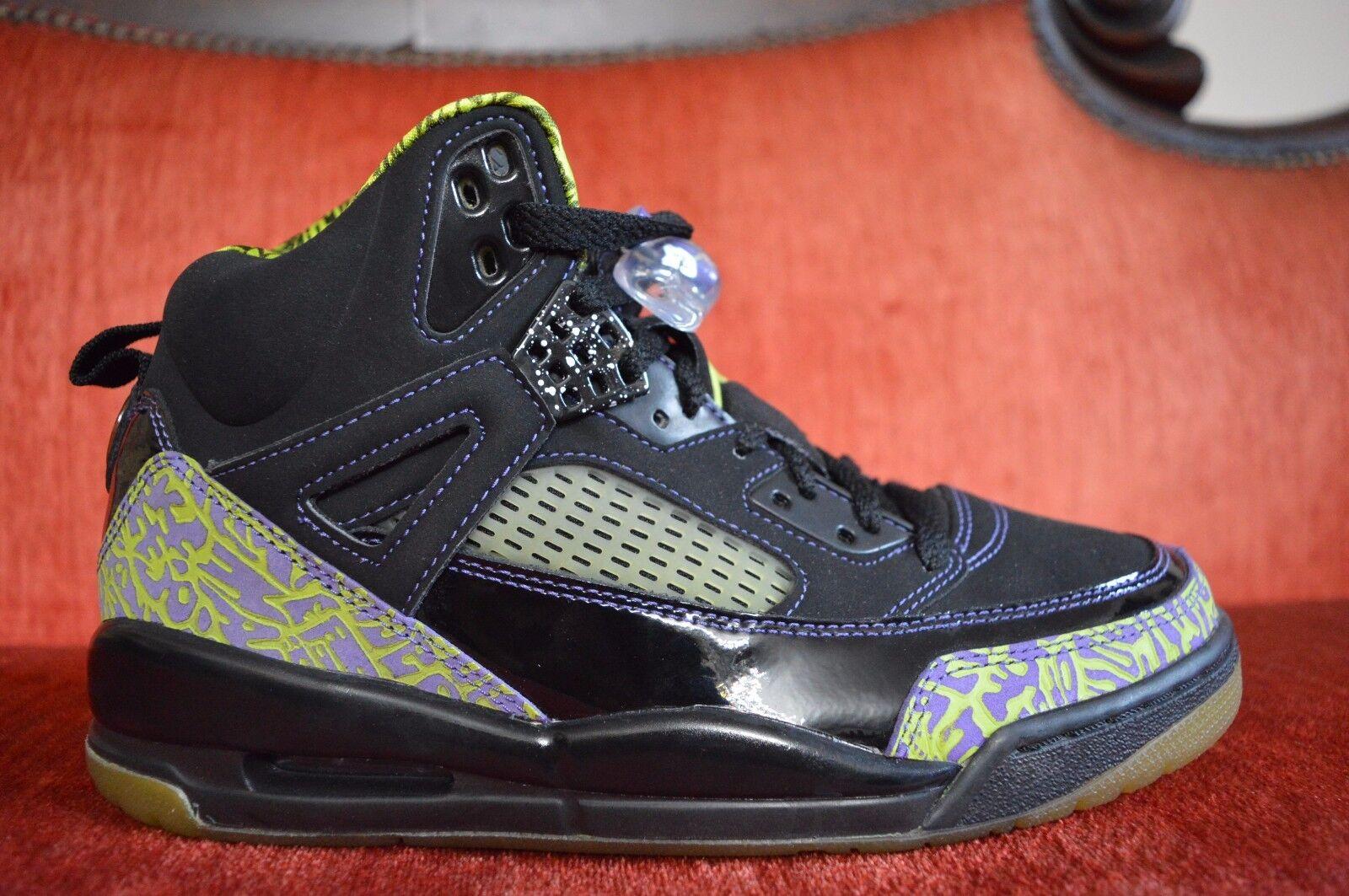 NEW Nike Air Jordan Spizike Size 7.5 Black Citron 315371-031 Retro 3 4 5 6