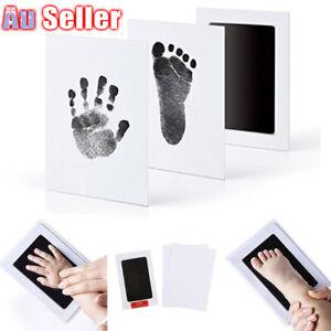 Newborn-Wipe-AU-Safe-Hand-amp-Foot-Print-Kit-Baby-Inkless-Christmas-Gift-Child