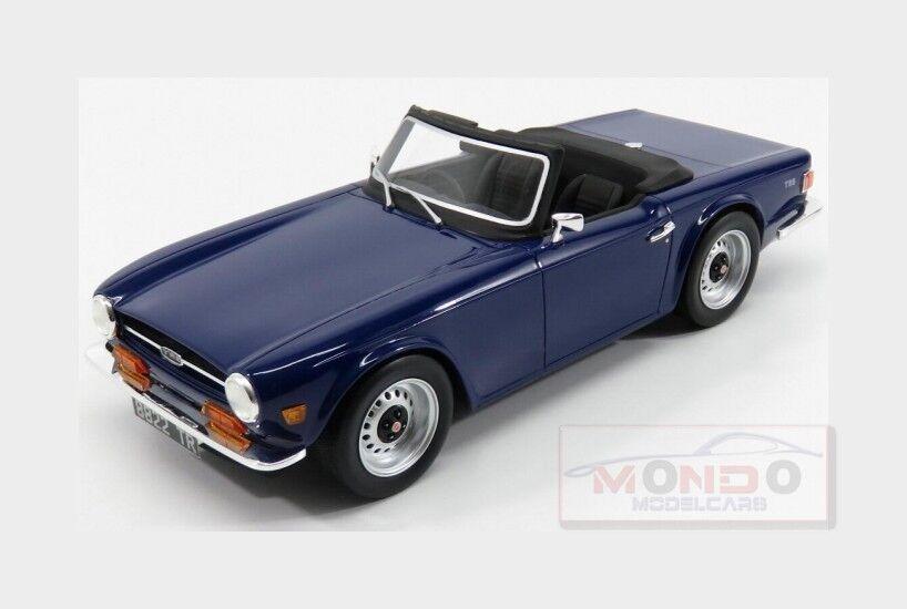 Triumph Tr6 Spider 1974 blueee LS Collectibles 1 18 LS002B Model