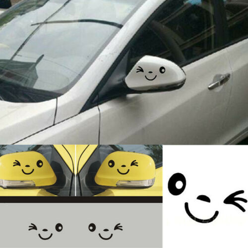 Cute Lovely Smile Face For Car//Bumper//Window Side Mirror Vinyl Decal Sticker CA