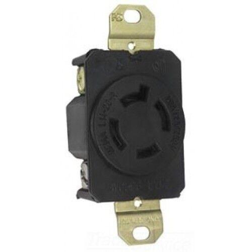 P /& S L1420R Turnlok Single Receptacle 20A 125//250V 4-Wire L14-20R