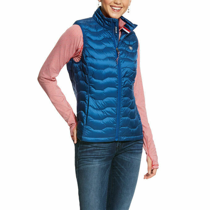 Ariat Ladies Ideal 3.0 Down Vest Padded Yard Riding Gilet Body Warmer