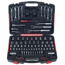 Stalwart 132 Piece Garage Hand Tool Set Ratchets Wrenches Screwdrivers