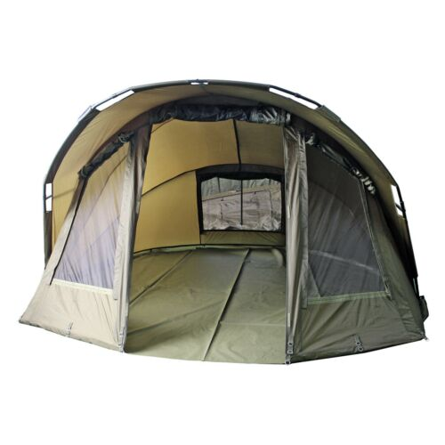 Fixkraft 2-Mann Karpfenzelt BIVVY Angelzelt Carp Dome Karpfen Zelt 300x280x155cm