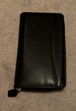 Filofax Personal Compact Zip Saffiano Zip Black Organiser