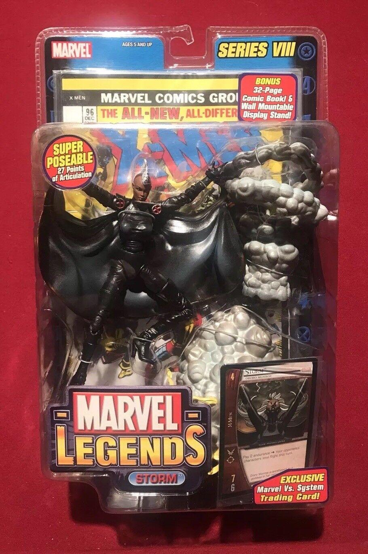 Marvel Legends Tormenta Mohawk Variante Serie VIII 8 Toybiz Nuevo en Caja Nuevos X-men