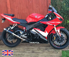 Yamaha R6 03 04 05 SP Engineering Carbon Fibre Stubby Moto GP Exhaust