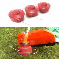 Strimmer Head Bump Feed Nylon 2 Line Strimmer Brushcutter With 2.4mm Cut Rope