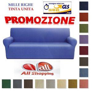 Copridivano copri divano millerighe due tre quattro posti for Granfoulard per divano