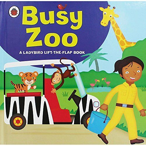 Busy Zoo - Lift The Flap Book 0241243378 The Cheap Fast Free Post
