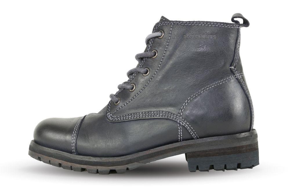 Ten Points Aurora 101 Black 360001 - Ladies - Ankle Boots - - Leather +NEW+