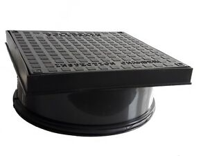 1 Outlet 450mm Inspection Chamber Manhole Base 5 Inlets