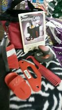 """Tough-1  red"""" grooming caddy horse equine with grooming supplies tack"""