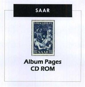 Saar-Stamp-Album-1920-1959-Color-Illustrated-Album-Pages