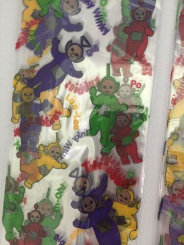 Teletubbies Cellophane Party Loot Gift Bags Set of 16