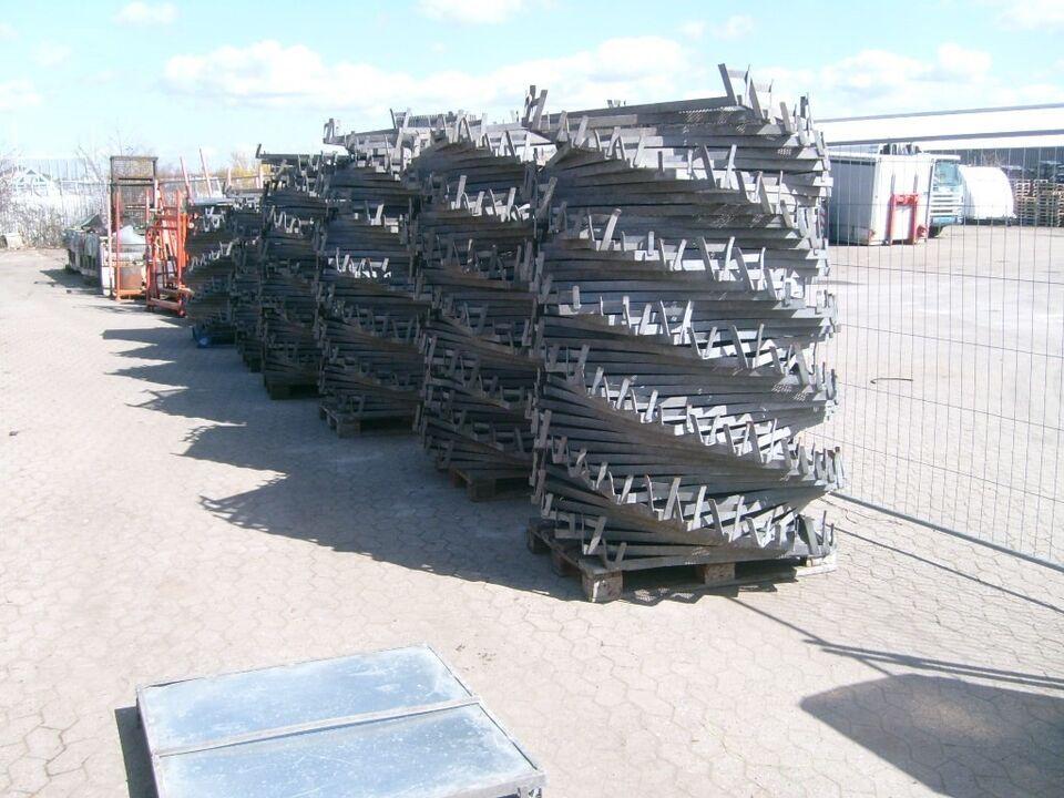 Jernpaller 100 x 100 cm - 250 stk på lager