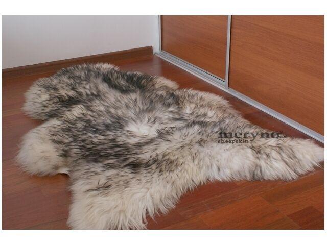 White Cream Sheepskin Rug Soft Wool