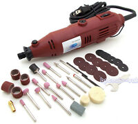 Variable Speed Rotary Tool Kit Electric Grinder 40pc Accessories Buffing Sanding