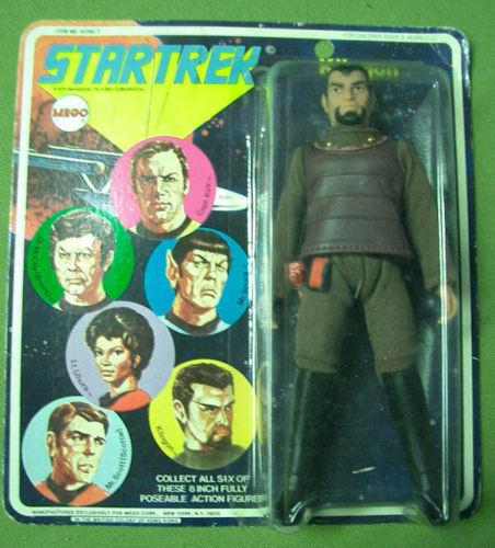 Vintage Mego Star Trek Klingon 8 Zoll 1974 Moc Seltene
