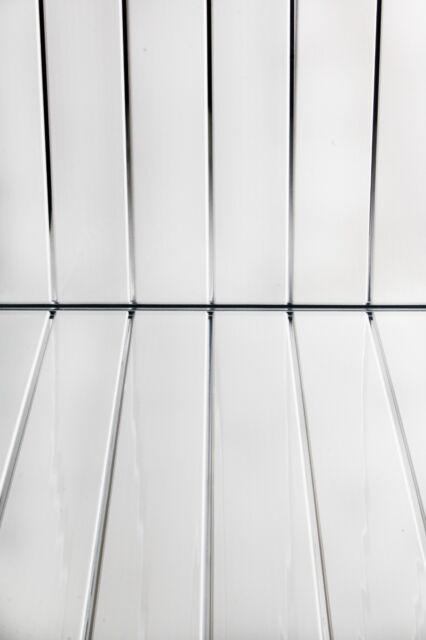 8 gloss white chrome 8mm bathroom wall cladding ceiling
