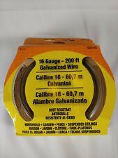 Ook 50143 16 Gauge 200 Ft Galvanized Steel Wire 1 Pack