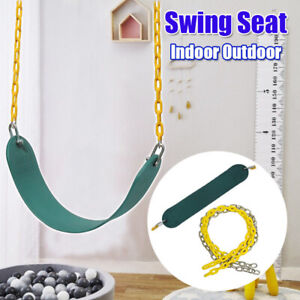 Image Is Loading Outdoor Iron Chain Swing Heavy Duty Seat