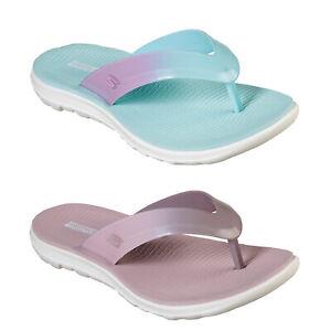 Skechers-Womens-On-The-Go-Nextwave-Ultra-Light-Goga-Mat-Summer-Beach-Flip-Flops