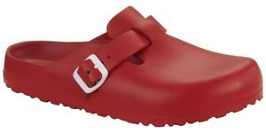 Birkenstock-Boston-EVA-Narrow-in-Red-Art-0127123-Washable-Clogs