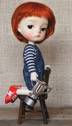 BJD recast tiny cute Free shipping 1 8 doll Ming make of resin 17.5cm height