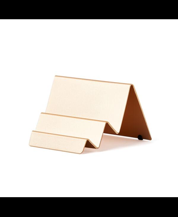 Lexon Card Case City Gold Light