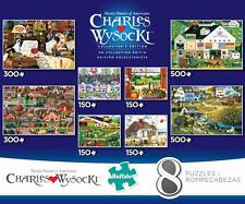 BUFFALO GAMES 8 IN 1 CHARLES WYSOCKI COLLECTOR'S EDITION MULTI-PACK #9311