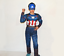 Kinder-karneval-Cosplay-Kostuem-Captain-America-Spiderman-Batman-maske-Kit-Suit Indexbild 4