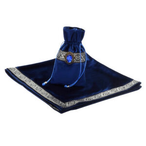 1pc-Altar-Tarot-Card-Bag-Table-Cloth-Divination-Soft-Wicca-Velvet-Pouch-Blue