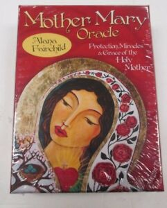 NEW-MOTHER-MARY-ORACLE-CARD-DECK-44-CARDS-AND-GUIDEBOOK-BY-Alana-Fairchild