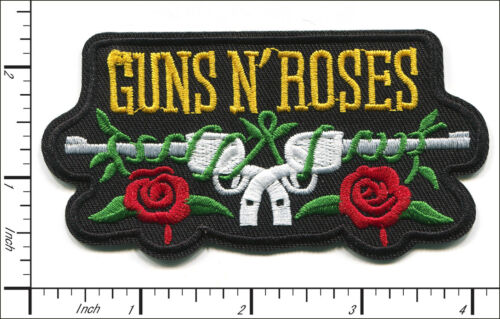 25 Pcs Embroidered Iron on patches Guns N Roses Metal Rock Band AP056nE