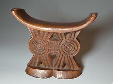 AFRICAN TRIBAL ART GOOD OLD  SHONA NECK REST HEAD REST