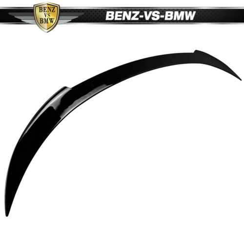 USA STOCK Fit 12-17 F13 F06 V Trunk Spoiler Painted #475 Black Sapphire Metallic