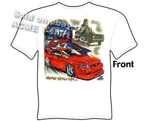 Mustang GT T Shirt Ford Mustang Clothing Muscle Car Tees Sz M L XL 2XL 3XL