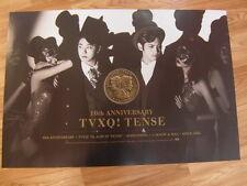 TVXQ  - 7TH TENSE [ORIGINAL POSTER] K-POP *NEW*TOHOSHINKI
