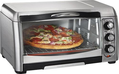 Hamilton Beach 6-Slice Convection Toaster Oven Stainless Steel