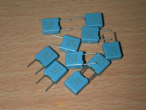 10 X VISHAY ERO MKP 1840 0.033uF 250V 2/% METALLIZED POLYPROPYLENE FILM CAPACITOR