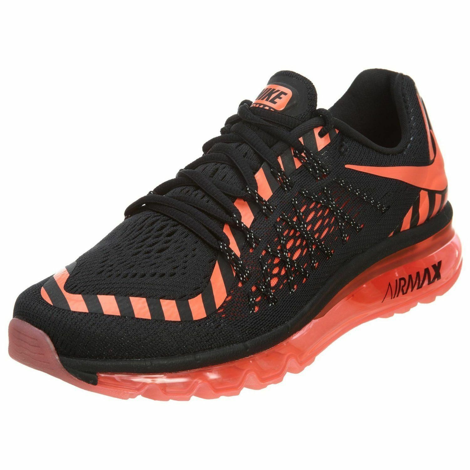 NEW NR NIKE AIR MAX 2015 NR NEW Running Black Lava WOMENS 7 Limited NR d1b627