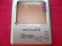 Wet n Wild Ultimate Touch Pressed Powder with Puff and Mirror, Choose Your Shade