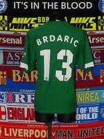 4/5 VfL Wolfsburg adults XL 2005 #13 Brdaric football shirt jersey trikot soccer