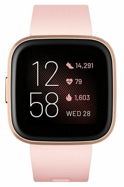 Fitbit Versa 2 Smartwatch Petal Copper Rose