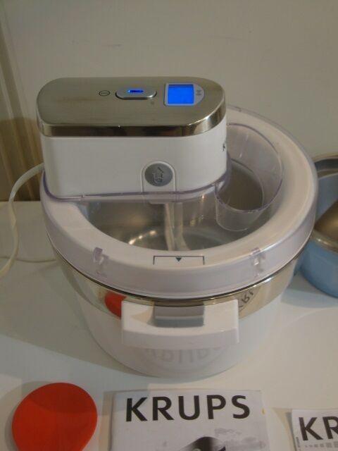 Flot Ismaskine / Ice Cream Maker, KRUPS – dba.dk – Køb og Salg af Nyt GB-28